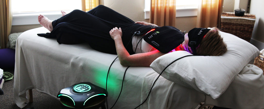 higher mind healing light therapy table